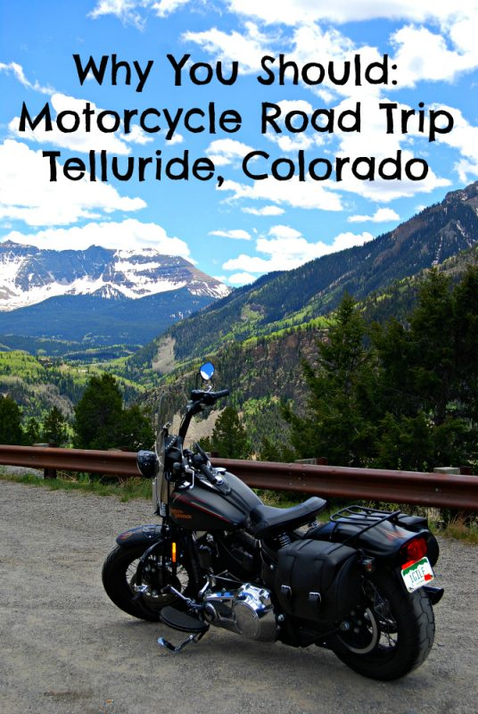 Motorcycle Road Trip Telluride, Colorado
