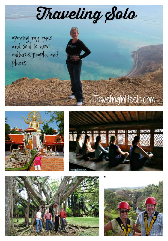 Traveling solo opens my eyes to new destinations, people,and cultures.