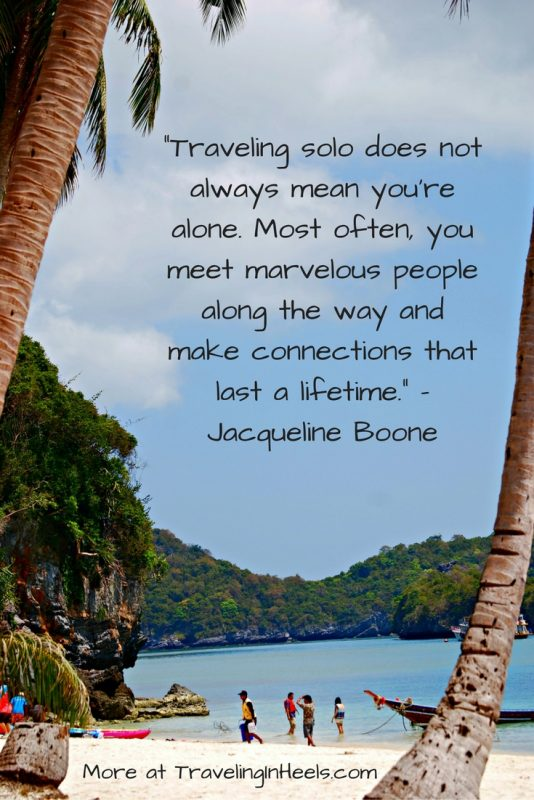 Where will your travels take you? Traveling Solo. Be Inspired!