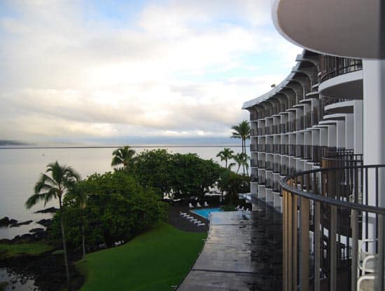 view from room Hilo Hawaiian Village