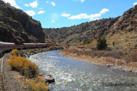 All aboard Colorado's most scenic train travel through the Royal Gorge.