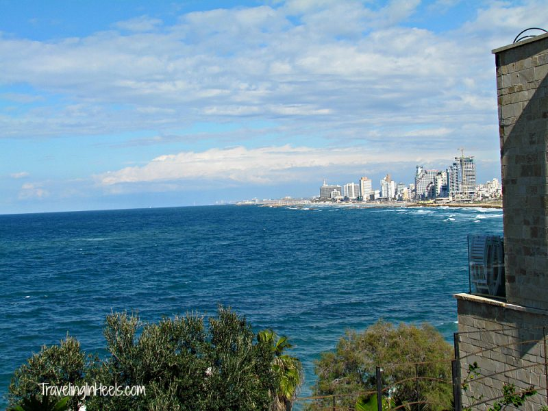 The west side of Tel Aviv, Israel, faces the Mediterranean Sea and has nine miles of beaches.
