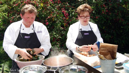New Zealand's favorite chef, Ruth Pretty, Ruth Pretty with Chef Jamie