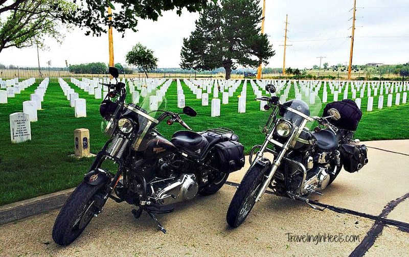 On your next road trip, plan a stop at Fort McPherson National Cemetery, near North Platte, Nebraska