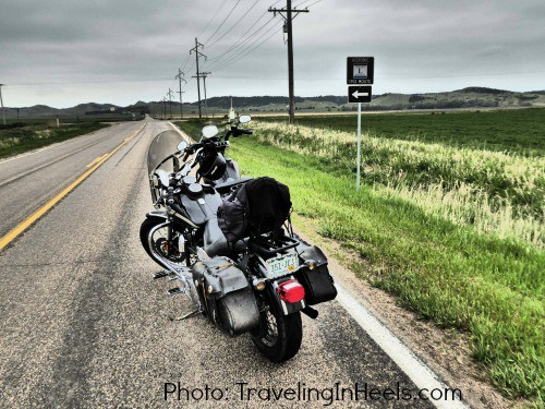 Motorcycling on the Lincoln Highway Nebraska