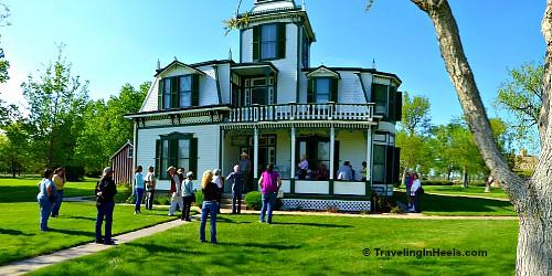 Buffalo Bill Ranch State Historical Park in North Platte, Nebraska