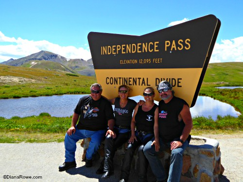 Motorcycle Road Trip Colorado IndependencePass