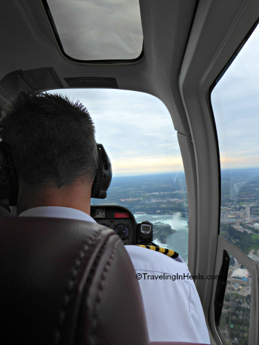 Niagara falls adventure in a helicopter!