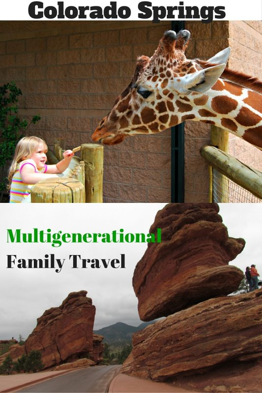 Things to do in Colorado Springs with Multigenerational Family #thingstodoinColoradoSprings #ColoradoSpringswithkids