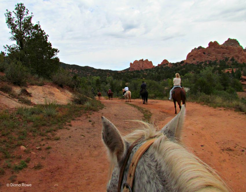 Horseback riding in Garden of Gods Park is priceless -- and one of many things to do in Colorado Springs.