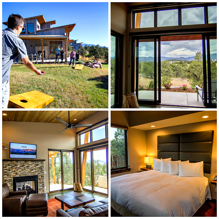 Explore Canon City near Colorado Springs and stay at the Royal Gorge Cabins or Echo Canyon Yurts.