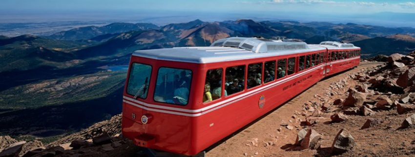 Photo credit: Broadmoor Pikes Peak Cog Railway