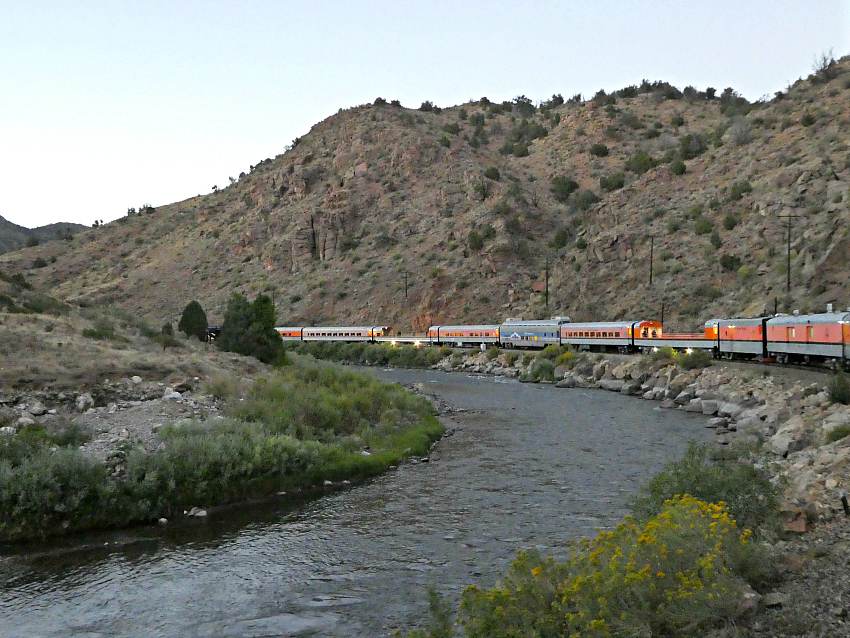 One of many not-to-miss things to do in Colorado Springs with kids is to ride the Royal Gorge Route Railroad in Canon City.