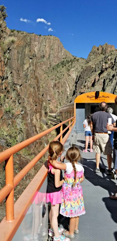 A classic experience in the Pikes Peak Region - riding the Royal Gorge Route Railroad in Canon City, Colorado.