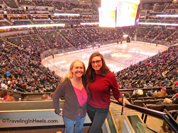 Suite seats at the Avalanche game, courtesy of Suite Hop.