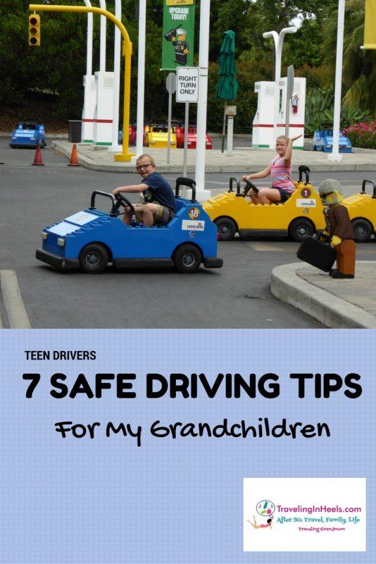 Teen Drivers - 7 Safe Driving Tips for my Grandchildren