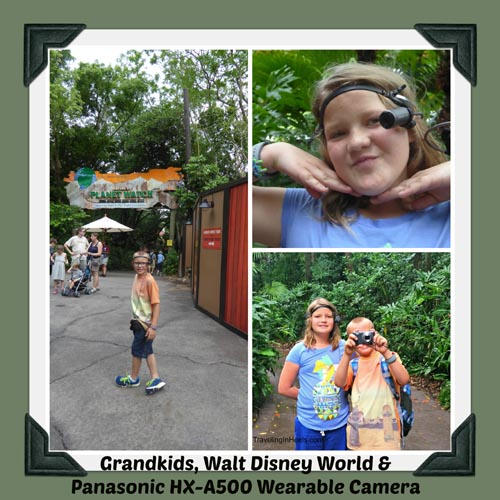 Give the grandkids the Panasonic HX-A500 wearable camera and let them loose in Walt Disney World. Boom! We've got a Panasonic Adventure!