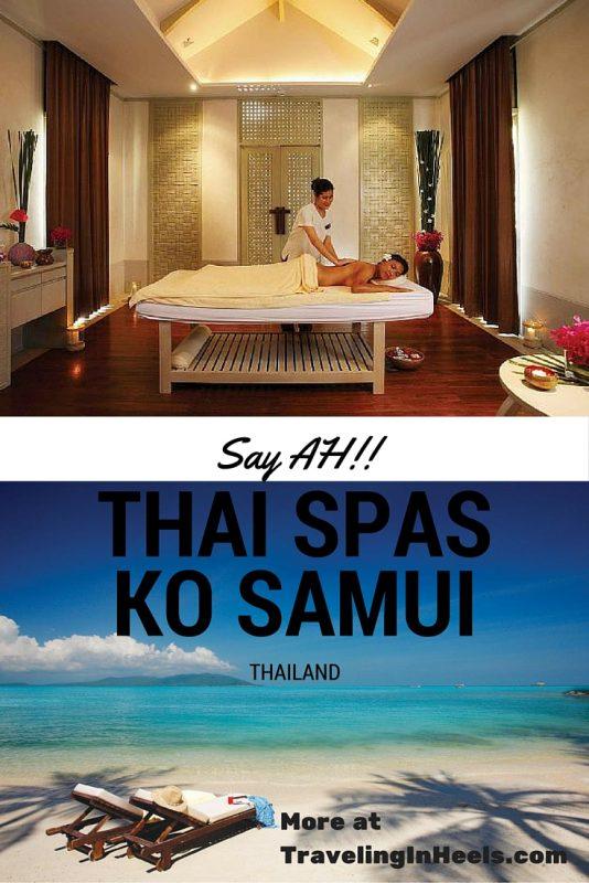 Say AH to Thai Spas in Ko Samui, Thailand
