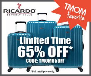 Now through May 31, 2015, get 65% off Ricardo
