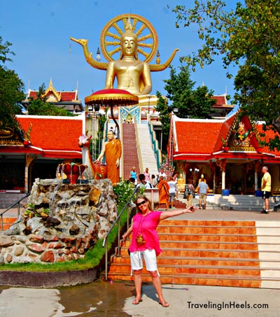 The Big Buddha, Ko Samui, Thailand