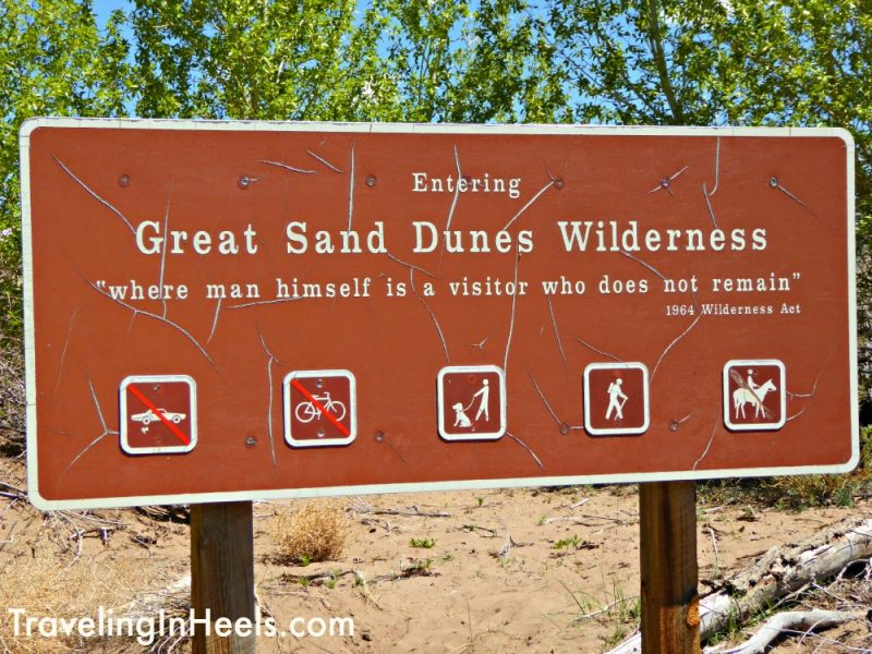 Welcome to the Great Sand Dunes National Park Colorado