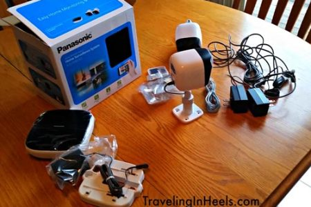 Review of Panasonic Home monitoring system