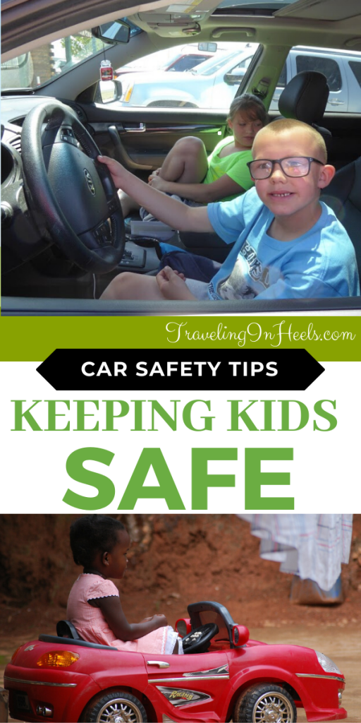 Start 'em young with these car safety tips for keeping kids safe on the road. #carsafety #carsafetytips #roadtriptips #roadtripsafety #familyvacation #multigentravel