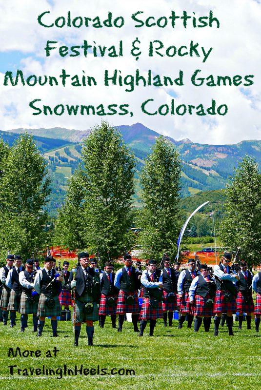 Colorado Scottish Festival and Rocky Mountain Highland Games, Snowmass, Colorado