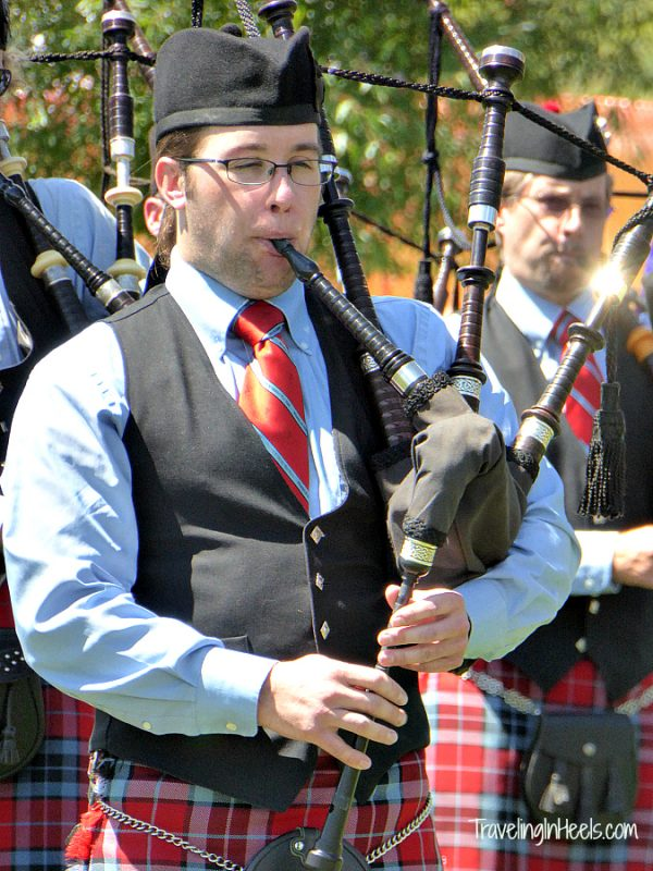 Bagpipes in Colorado? Yes you can at the annual Colorado Scottish Festival in Snowmass, Colorado.