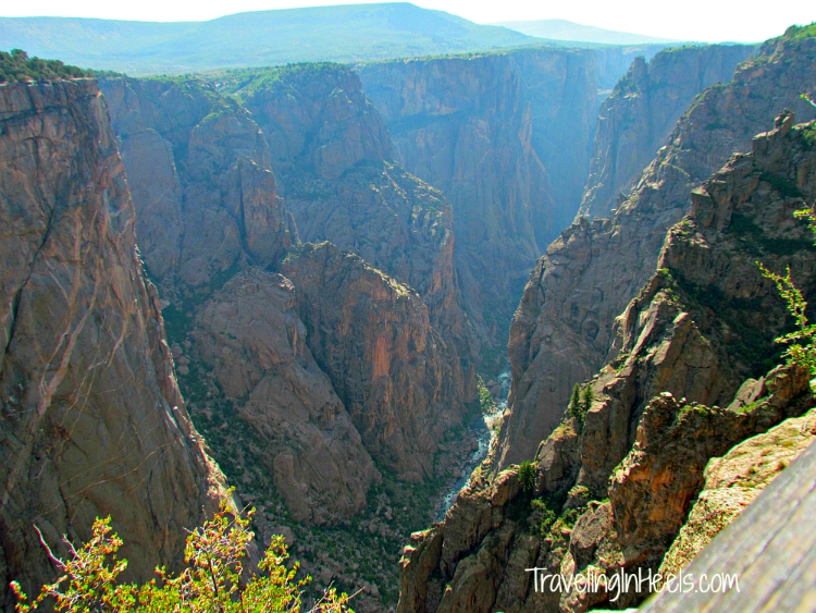 For off-the-beaten-path Americas look at Mother Nature, visit the Black Canyon of the Gunnison National Park in Colorado.