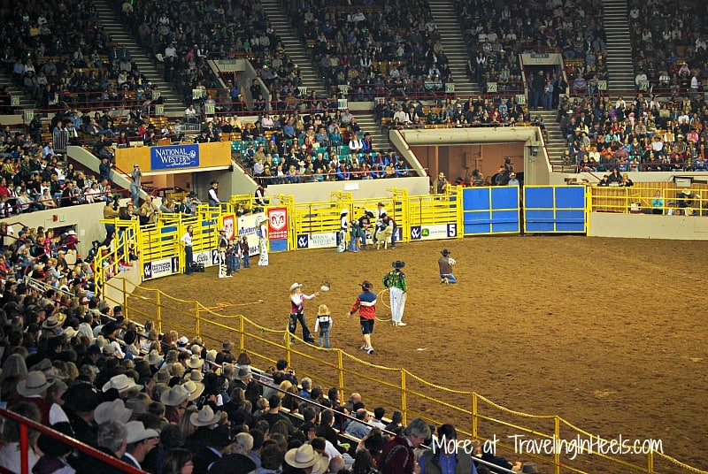 The National Western Stockshow is held every January in Denver.