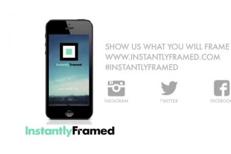 Get Social, Photos on the Go: InstantlyFramed