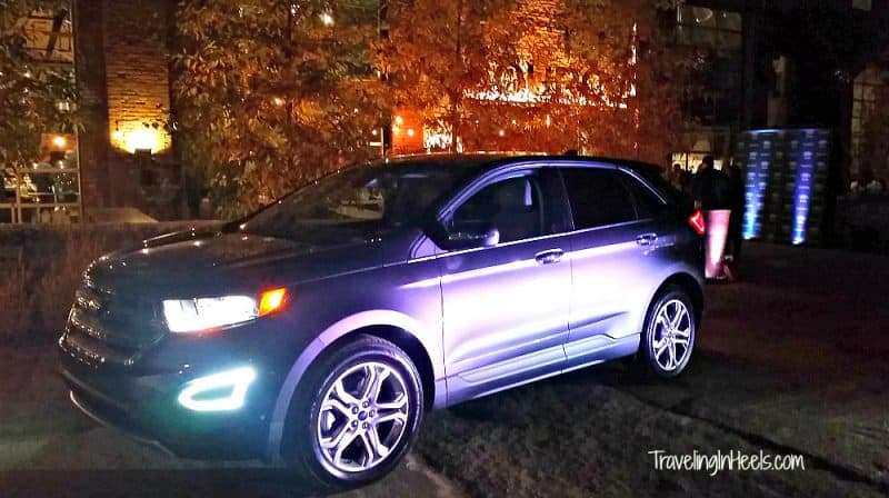 Test Driving the 2015 Ford Edge.