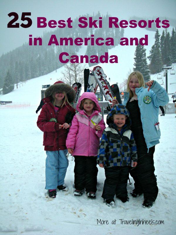 25 best ski resorts in America and Canada