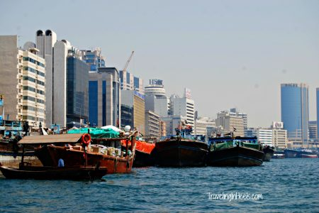 Dubai UAE Water Taxi Traditional abras
