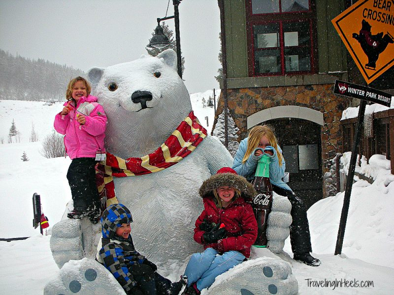 Winter Park, Colorado, is a famly fun ski resort,
