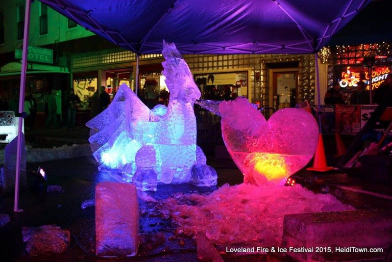 Loveland Fire & Ice Festival. Photo Courtesy: HeidiTown.com