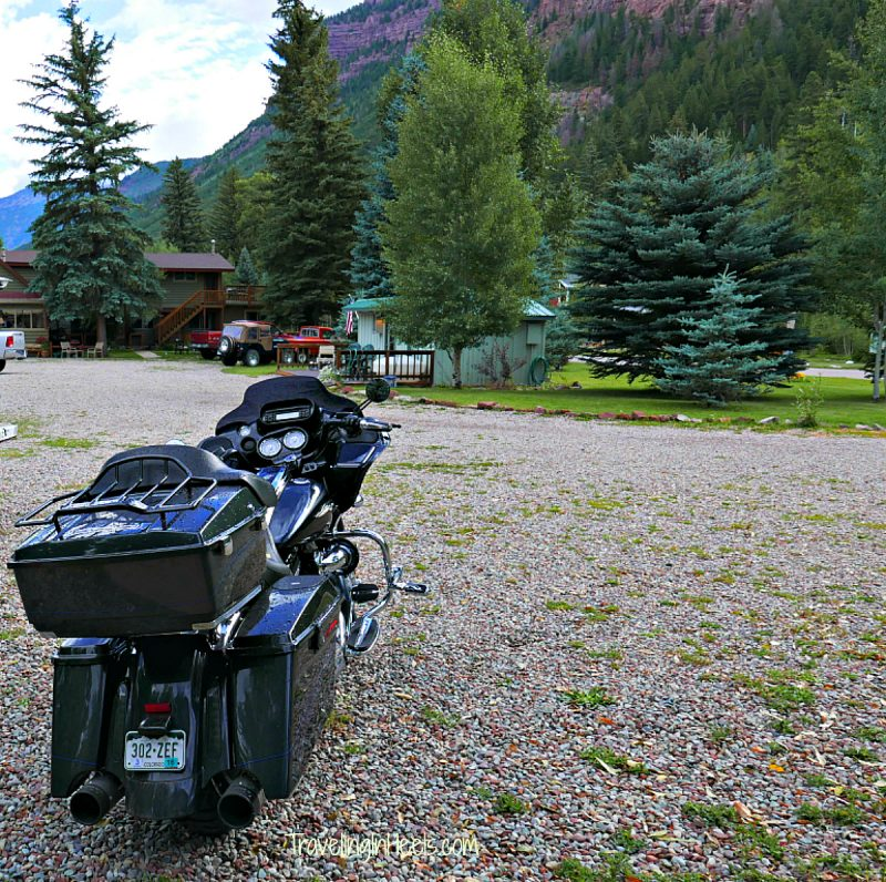 Motorcycle friendly Redstone Cliff Lodge in Redstone, Colorado