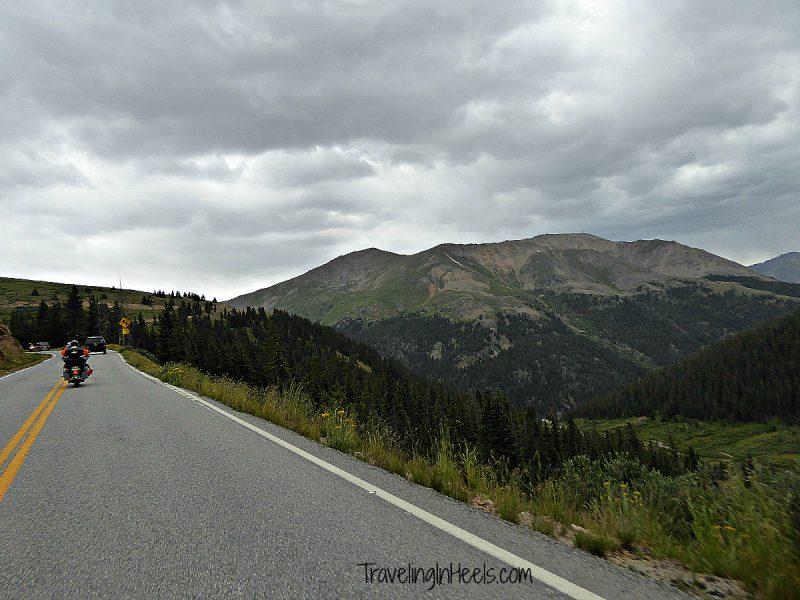 Motorcycle Road Trip riding the Colorado Rocky Mountains near Redstone, Colorado