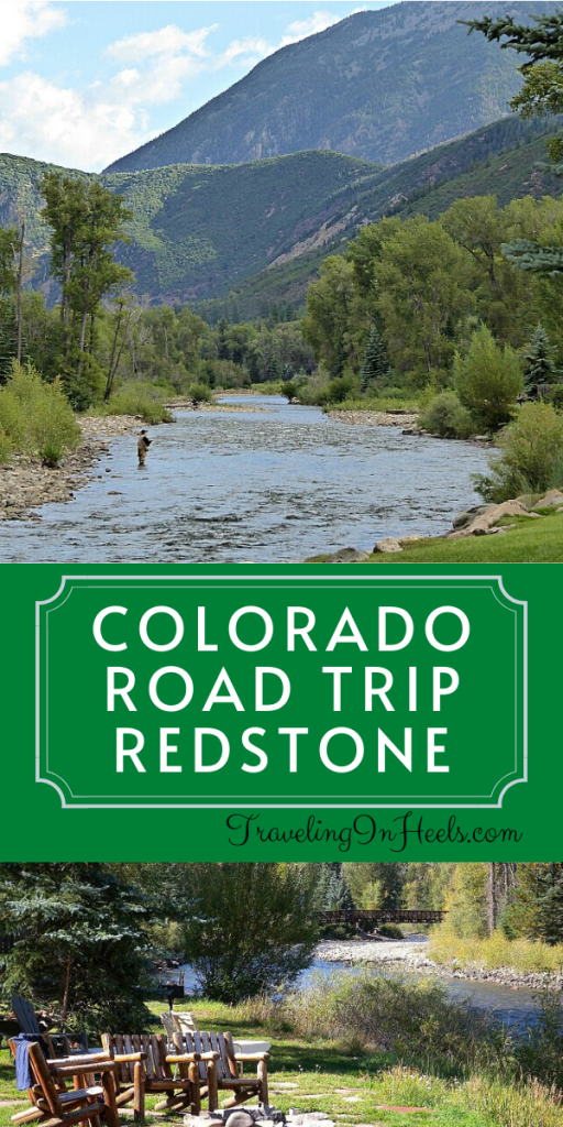 Discover the quiet mountain town of Redstone, on a picture-perfect Colorado Road Trip #redstonecolorado #coloradoroadtrip #coloradomotorcycleroadtrip #familyvacation #multigentravel