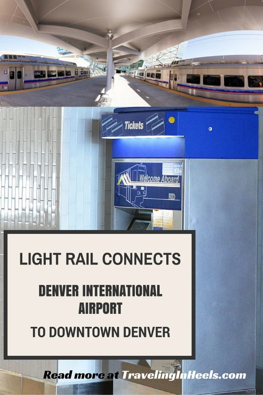 Light Rail Connects Denver International Airport to Downtown