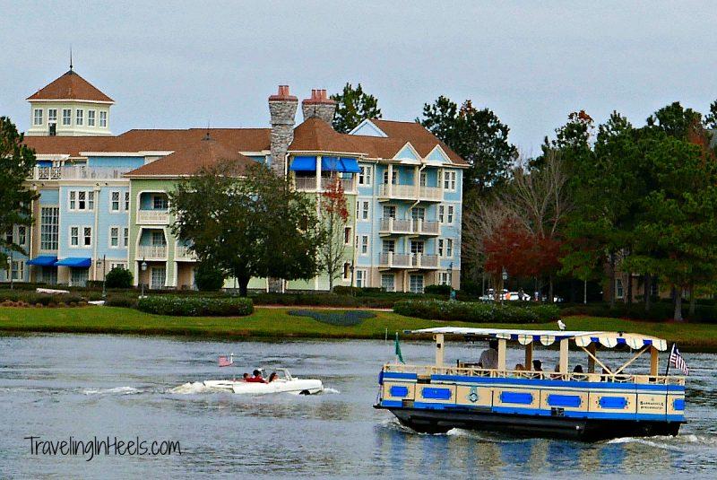 Walt Disney World water shuttle