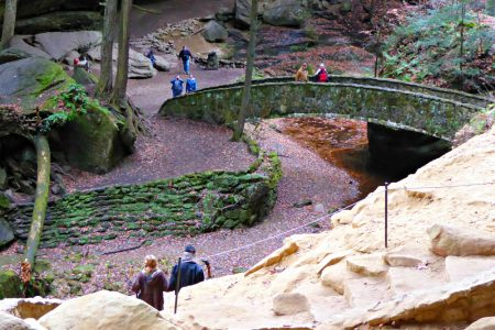 Hocking Hills State Park Ohio Hike