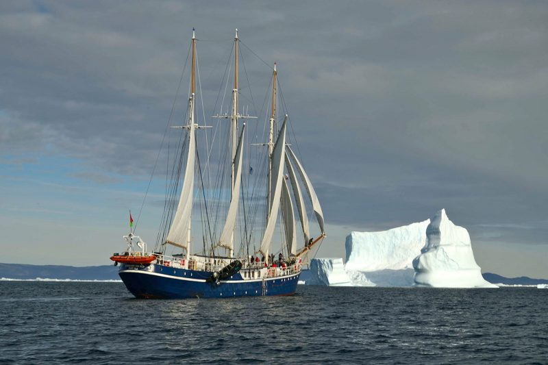 Board the historical Rembrandt van Rijn on this 8-day South Greenland cruise.