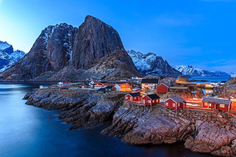 6 Beat the Heat Summer Adventures include Rorbuer Lofoten Islands, Norway