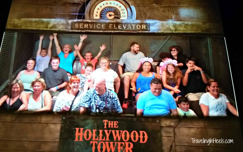 Walt Disney World Hollywood Studios Tower of Terror TravelingInHeels.com