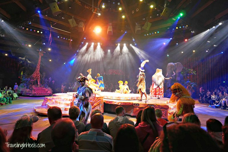 The Festival of the Lion King is 1 of 12 Kids Top Picks at Walt Disney World.