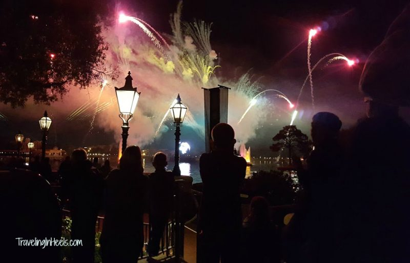 Disneys Epcot Illumination Fireworks 2A