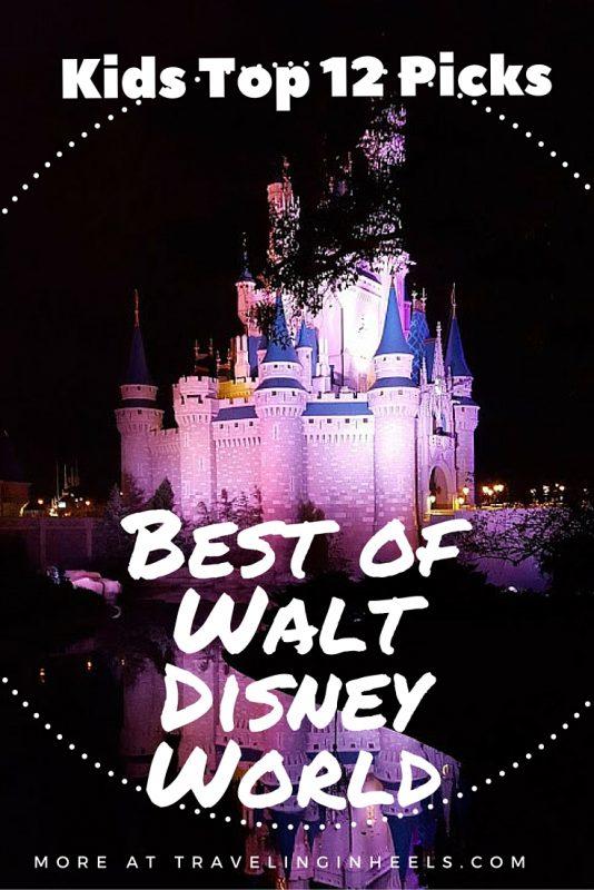 Kids Top 12 Picks Best of Walt Disney World - TravleingInHeels.com
