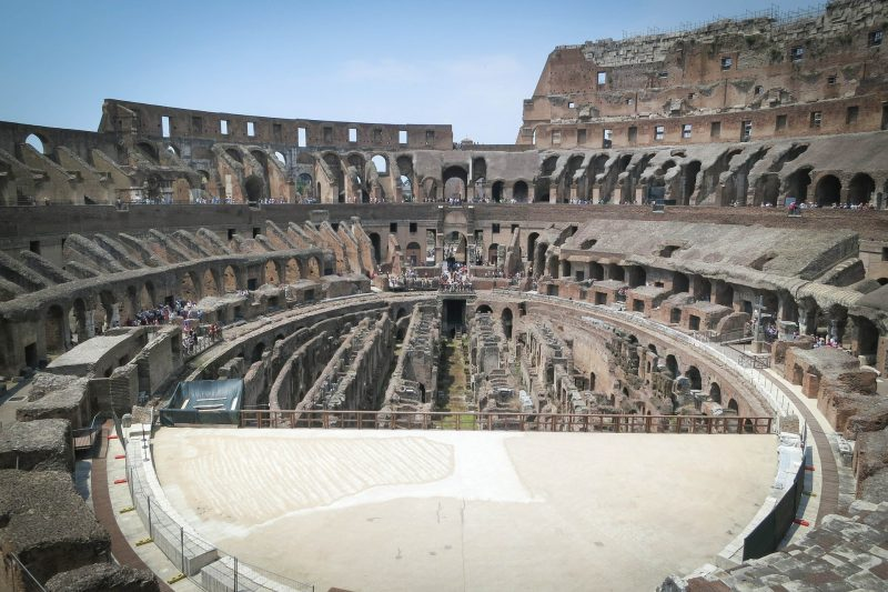 The Rome Colosseum, 1 of 5 top places to visit in Italy